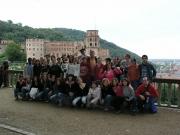 On a teenager trip to Heidelberg