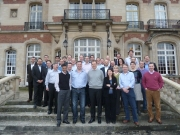 Feb 8th 2011 - the morning after my fairwell dinner at Chateau de Montvillargenn (close to Paris) with my boss and my staff