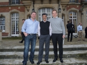 My business is in good hands, Olivier - my successor, a great leader and friend, <br> Vishal my boss (in between us)